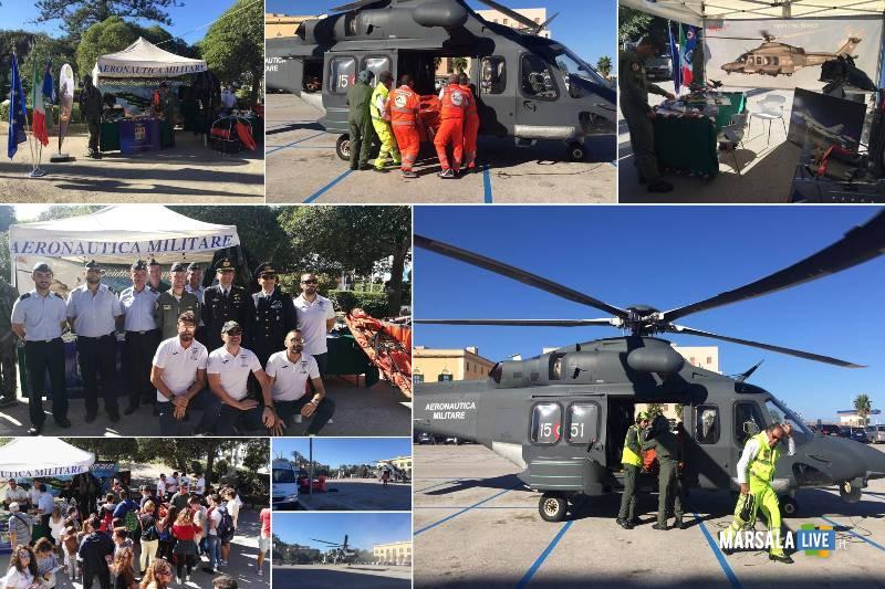 Aeronautica Militare alla Settimana Europea per lo Sport e la Prevenzione