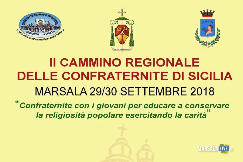 Cammino Regionale delle Confraternite di Sicilia a Marsala - 2018