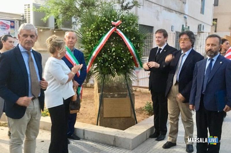 Commemorazione vittime 11 settembre Lions e comune Marsala (1)
