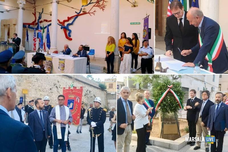 Commemorazione vittime 11 settembre, Lions e comune Marsala