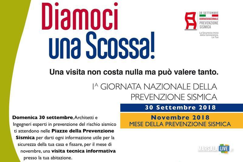Giornata Nazionale della Prevenzione Sismica - Diamoci una Scossa