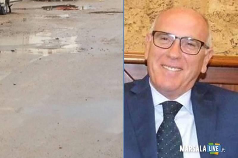 Marsala, Arturo Galfano - Interventi urgenti nell_area del Salato