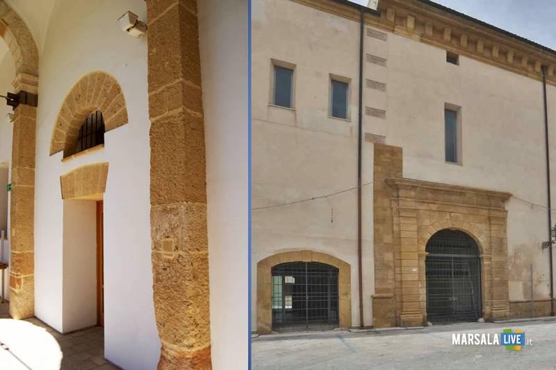 Marsala, Convento del Carmine e Palazzo Grignani