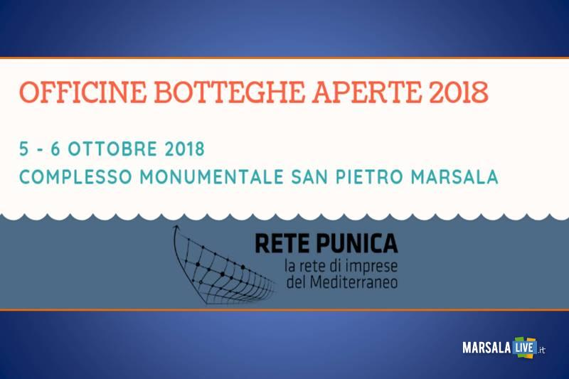 Officine e Botteghe Aperte 2018 a Marsala