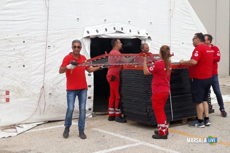campo sosta temporanea migranti_ 3 fontane d'oro 24.09.2018