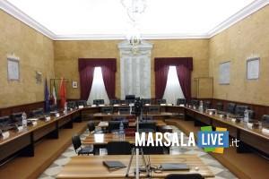 consiglio comunale Marsala - Sala delle Lapidi
