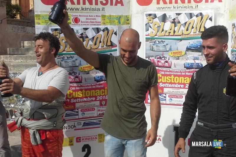 podio slalom Custonaci