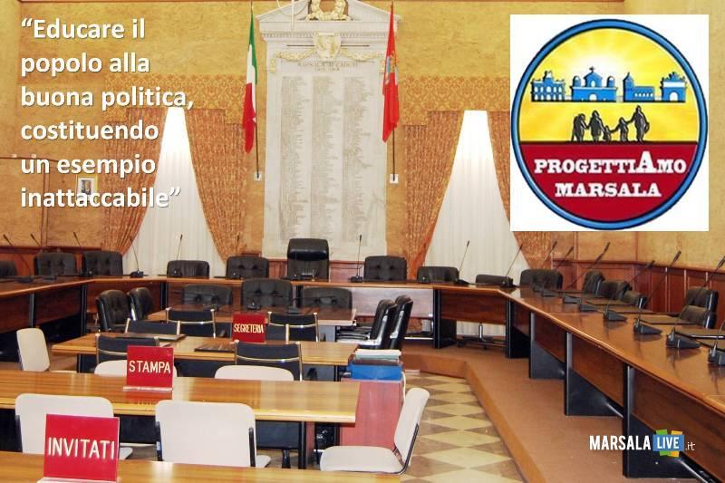 progettiamo marsala- consiglio comunale
