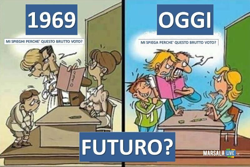 swcuola ieri e oggi- genitori, alunni, insegnanti - Marsalalive