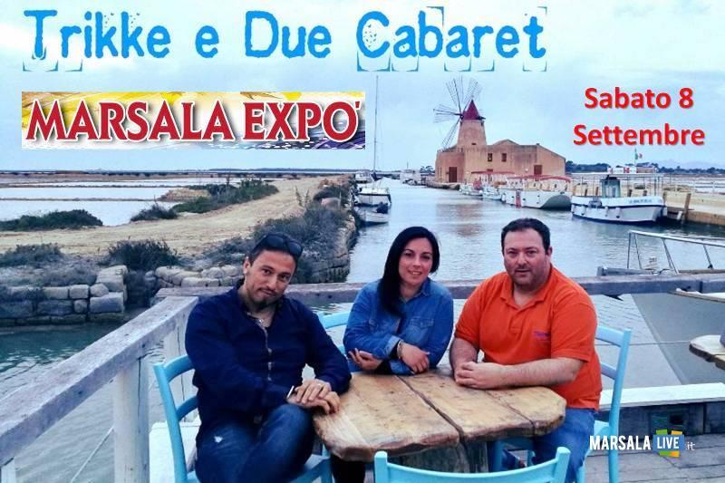 trikke e due cabaret 2018 - Expo marsala