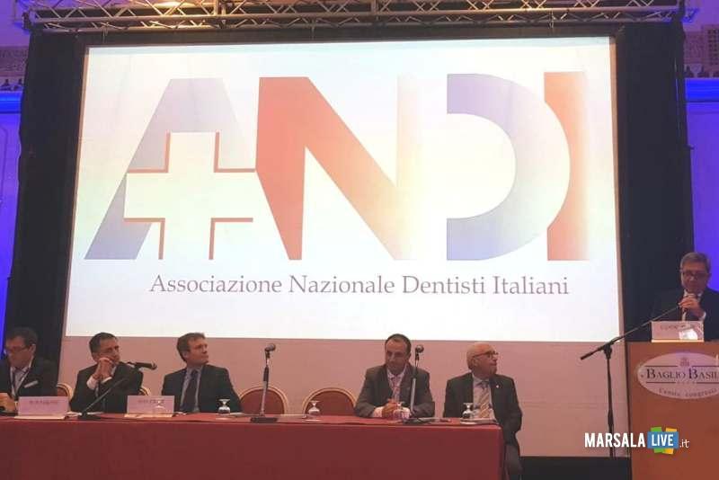 Apertura del Congresso. l'intervento del Presidente Nazionale ANDI dott. Carlo Ghirlanda