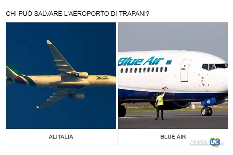 Chi può salvare l'aeroporto di Trapani Birgi - sondaggio facebook