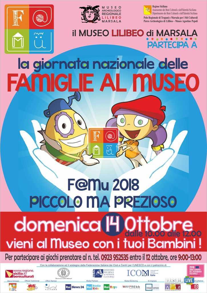 Famiglie al museo marsala - 2018 museo