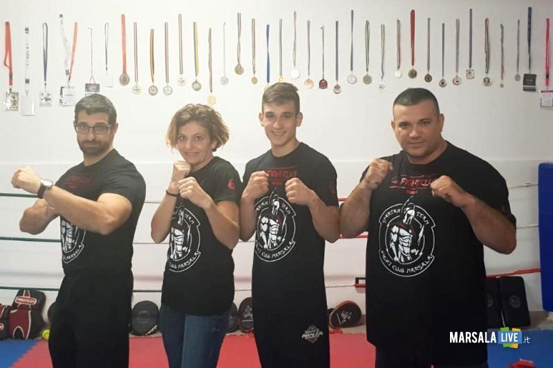 Francesco di Girolamo, Fight Club Marsala, Francesco Mortillaro, Giacoma Cordio, Pietro La Placa 2018