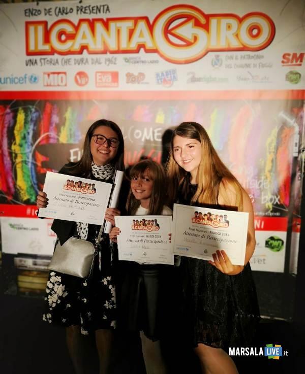 Irene Gentile, Aurora Di Nino e Annamaria Modello cantagiro
