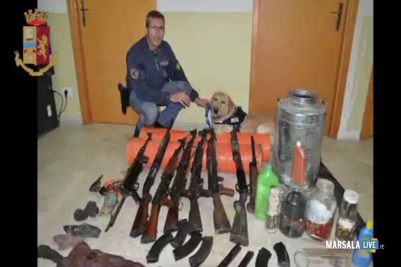 Mafia, arsenale nel trapanese