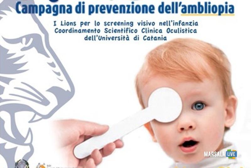 Marsala, prevenzione della vista a scuola con il Lions