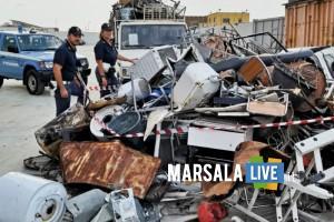 Operazione Oro rosso Polizia Trapani - discarica abusiva rifiuti speciali