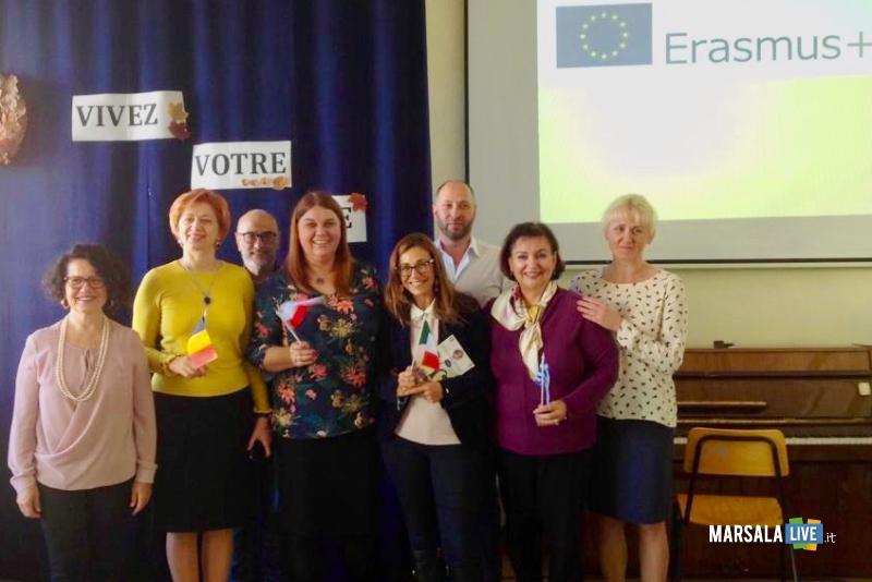 Progetto Erasmus+ Partenariato strategico Vivez Votre Vie Liceo Statale Pascasino Marsala