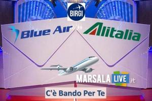 aeroporto birgi, vincenzo Florio, Alitalia o Blue Air. Bando