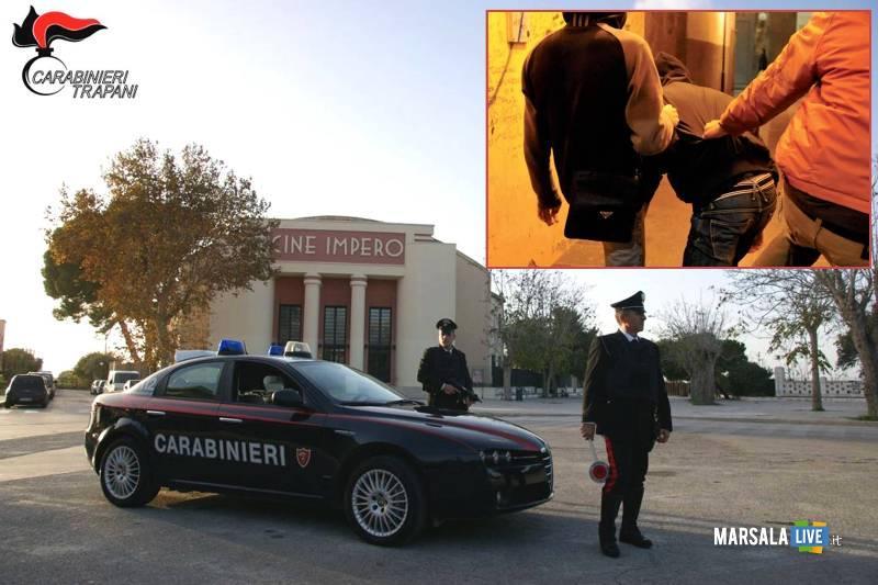 aggressione parco salinella marsala ventenne - Carabinieri