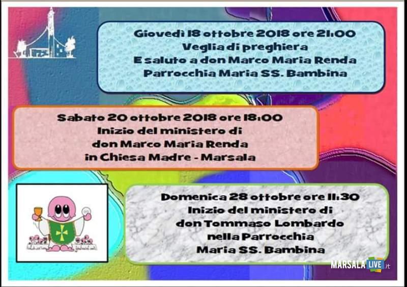don tommaso lombardo e don marco Renda 2018