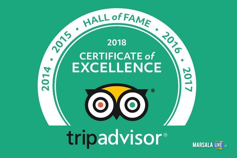 ex Stabilimento Florio 2018 Certificato Eccellenza Tripadvisor