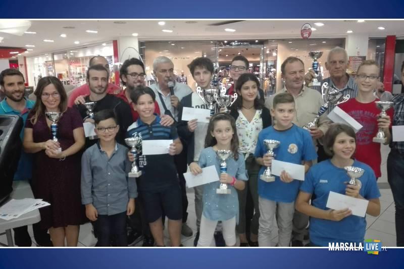 i fratelli Montalto nel torneo di scacchi Rapid di Palermo