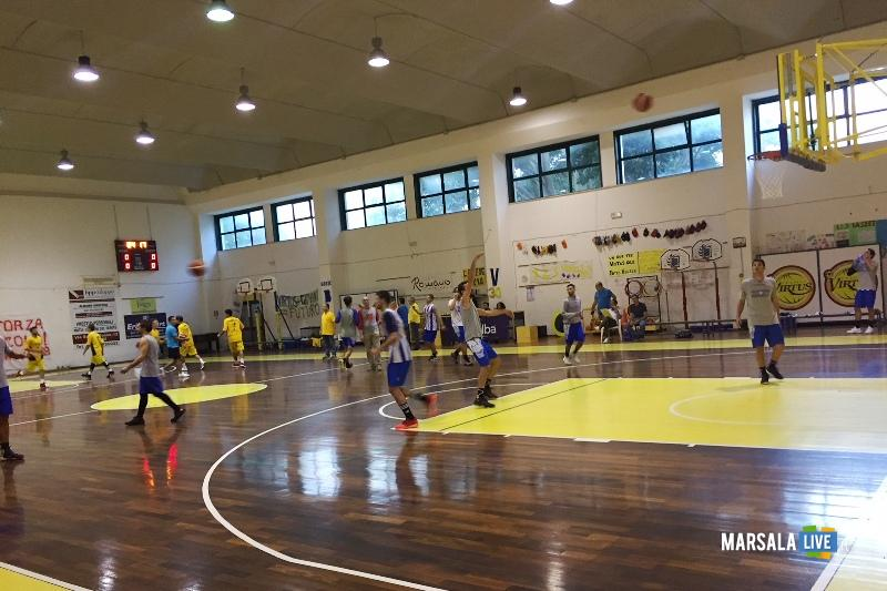 pallacanestro marsala- virtus Trapani