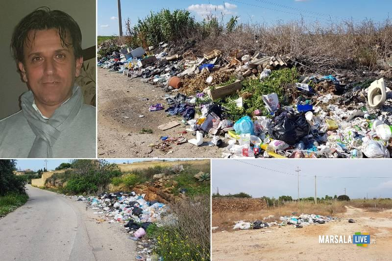 Antonino Gerardi, a Marsala un piano per bonificare le discariche abusive