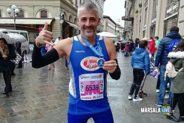 - Atl. - Il debuttante Demetrio Rizzo alla Maratona di Firenze