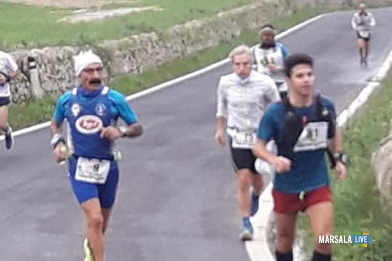 - Atl. - Michele D'Errico alla 100 km della Val di Noto - una fase della gara
