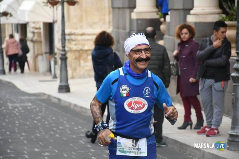 - Atl. - Michele D'Errico alla 100 km della Val di Noto