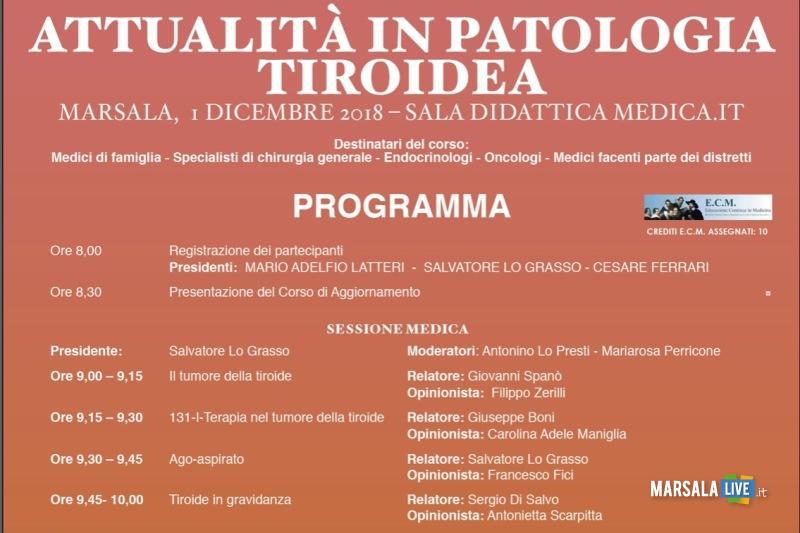 Attualità in Patologia Tiroidea 1 Dicembre 2018