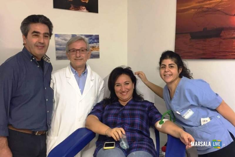 Consigliera Linda Licari donatrice - avis marsala