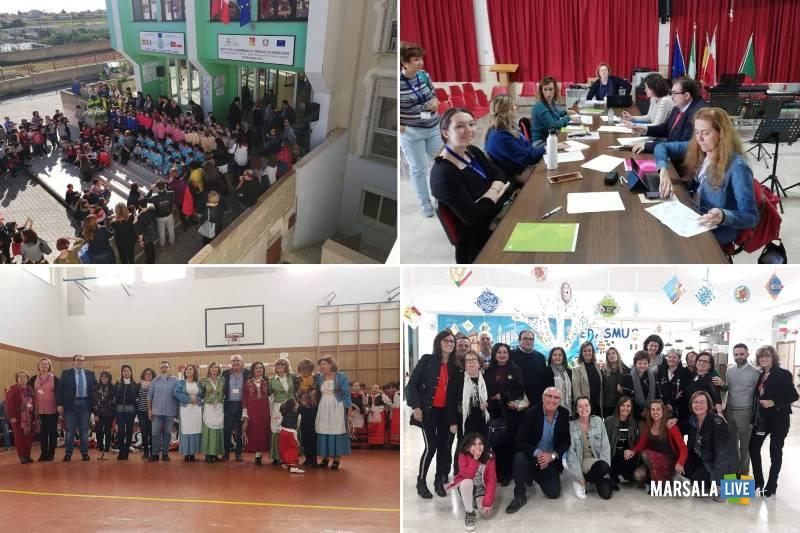 Erasmus Plus, studenti e docenti spagnoli e portoghesi ospiti al Nosengo di Petrosino (1)