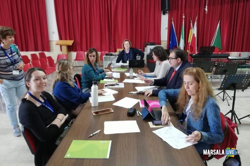 Erasmus Plus, studenti e docenti spagnoli e portoghesi ospiti al Nosengo di Petrosino (5)