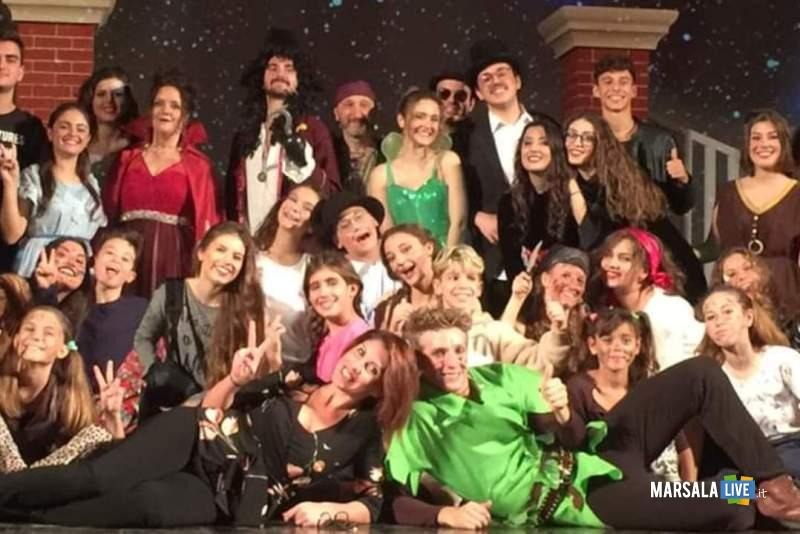 La fantastica storia di Peter Pan Group in scena al Teatro Impero Marsala (2)