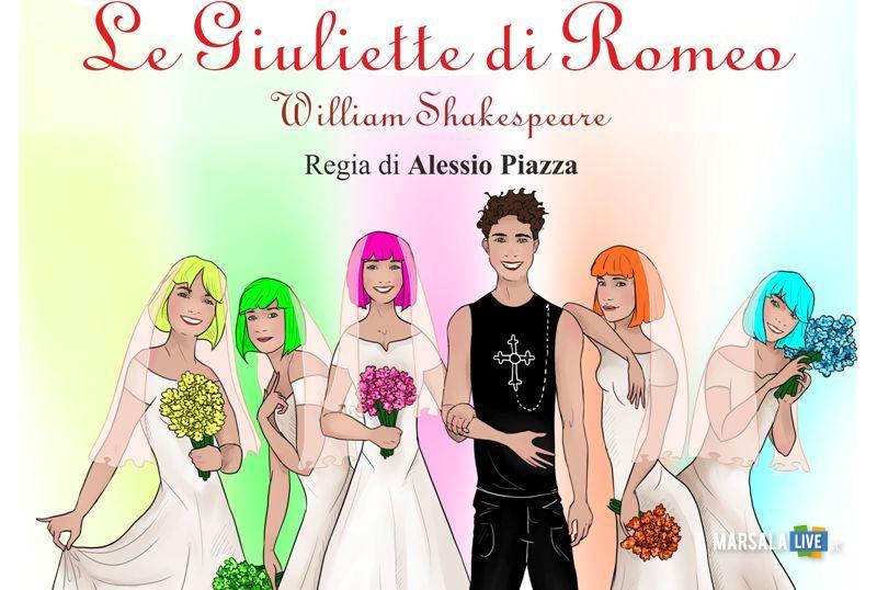 Le Giuliette di Romeo, curato da Alessio Piazza - Marsala