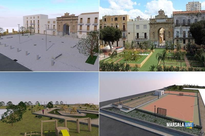 Marsala, funzionalità per Porta Nuova e un'ampia area di Sappusi