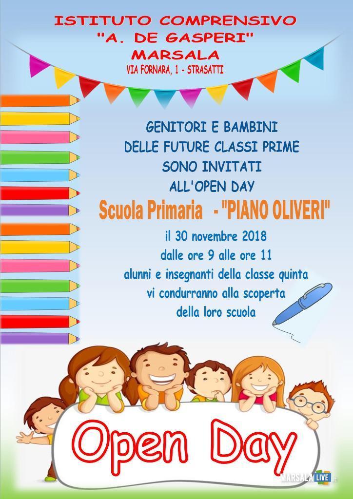 Open Day 2018 - I.C. Alcide De Gasperi di Strasatti Marsala