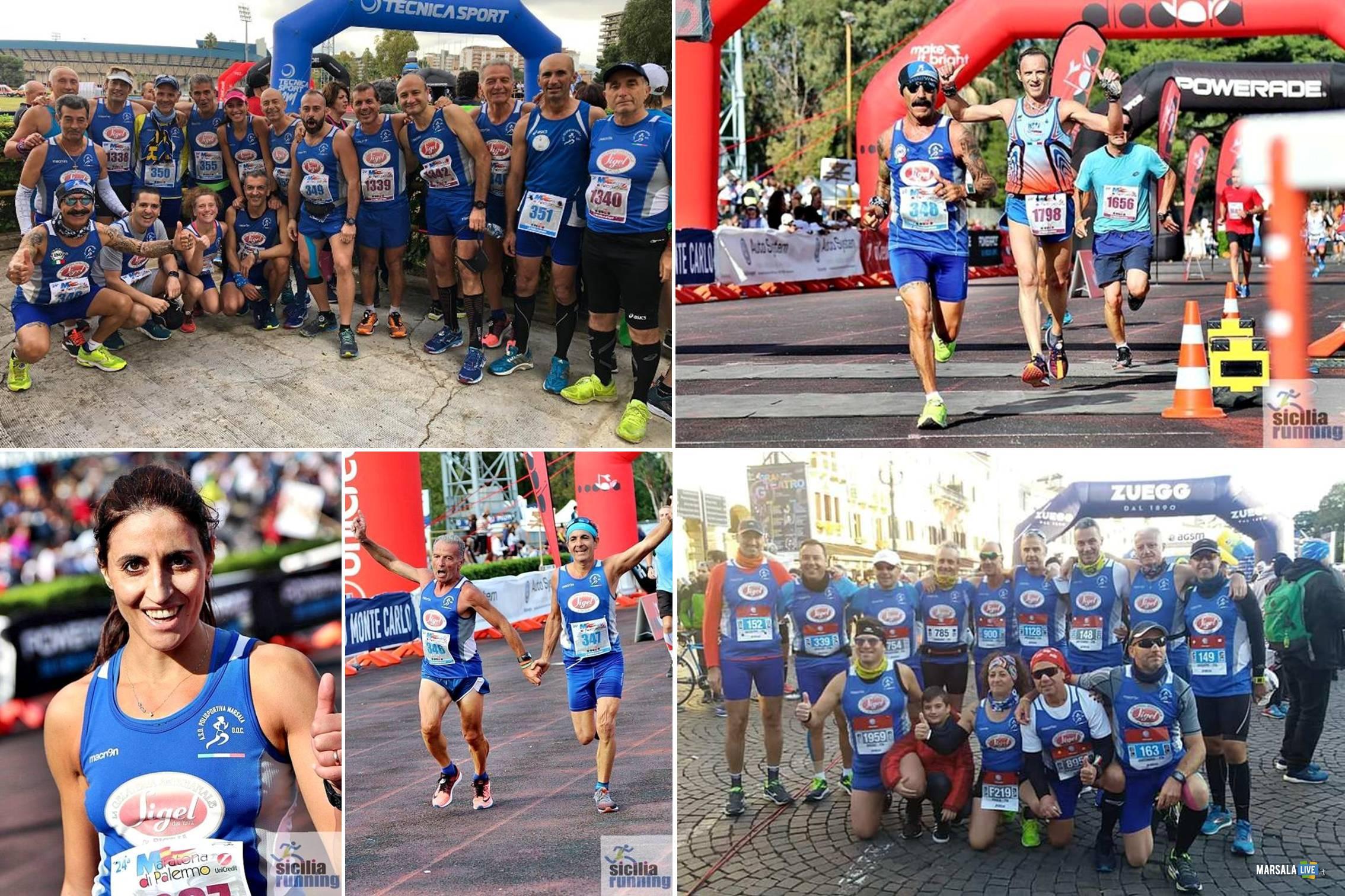 Polisportiva Marsala Doc alle maratone di Palermo e Verona