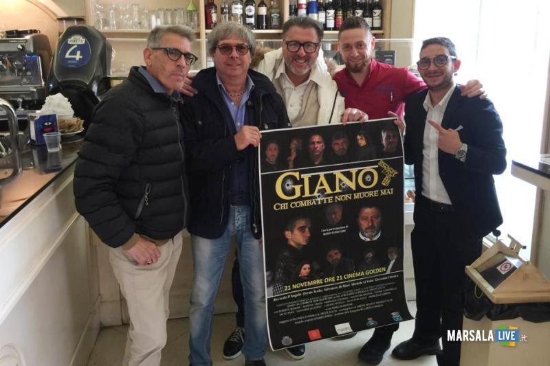 Presentato a Marsala il film Giano - Chi combatte non muore mai (1)