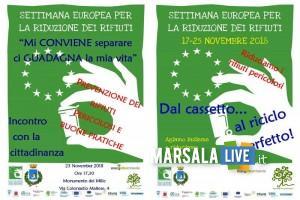 Settimana Europea per la Riduzione dei Rifiuti a Marsala 2018