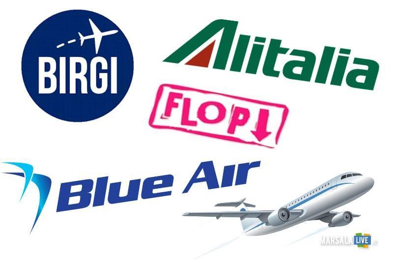 alitalia blu air birgi aereo 2018