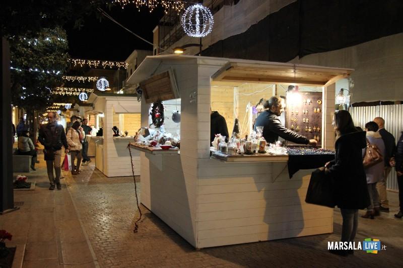 casette natale mercatini a Marsala