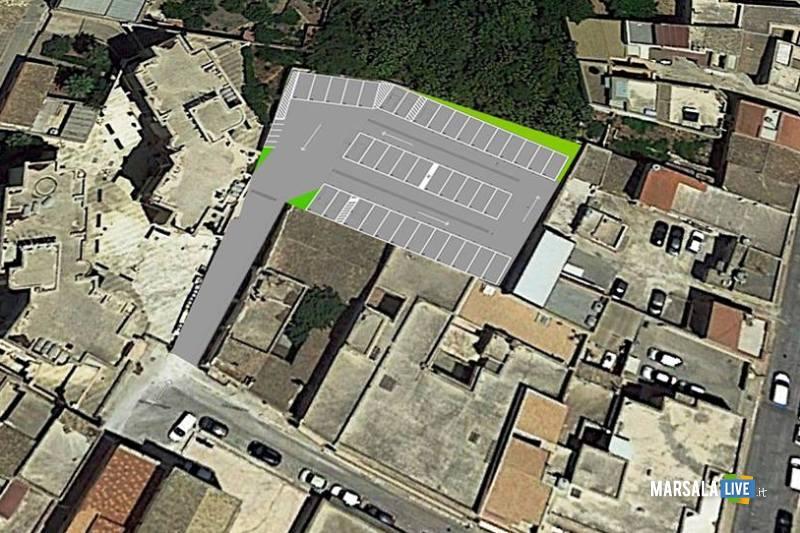 progetto parcheggio via Umberto dietro Chiesa Madre