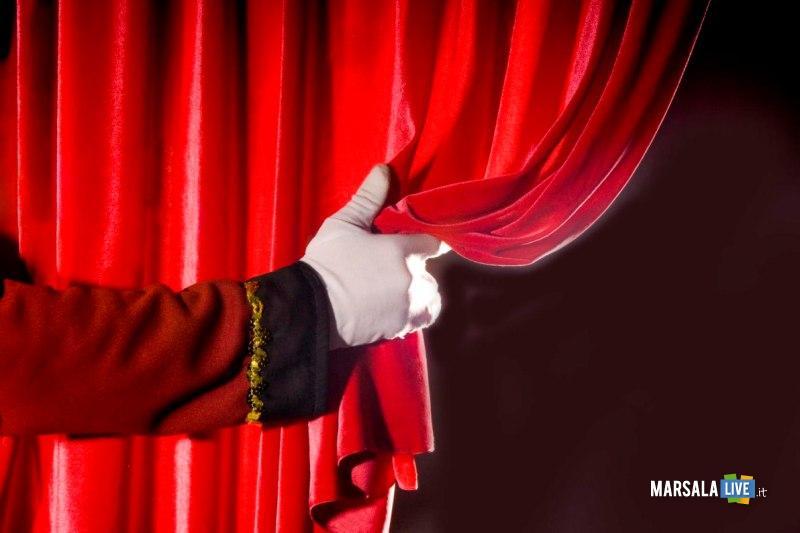 teatro, tenda rossa