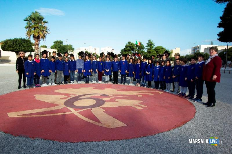 2. foto di gruppo in piazza d'Arme