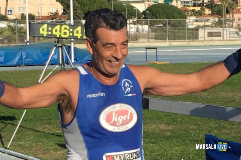 - Atl. - Filippo Struppa all'arrivo della Maratona di Sanremo